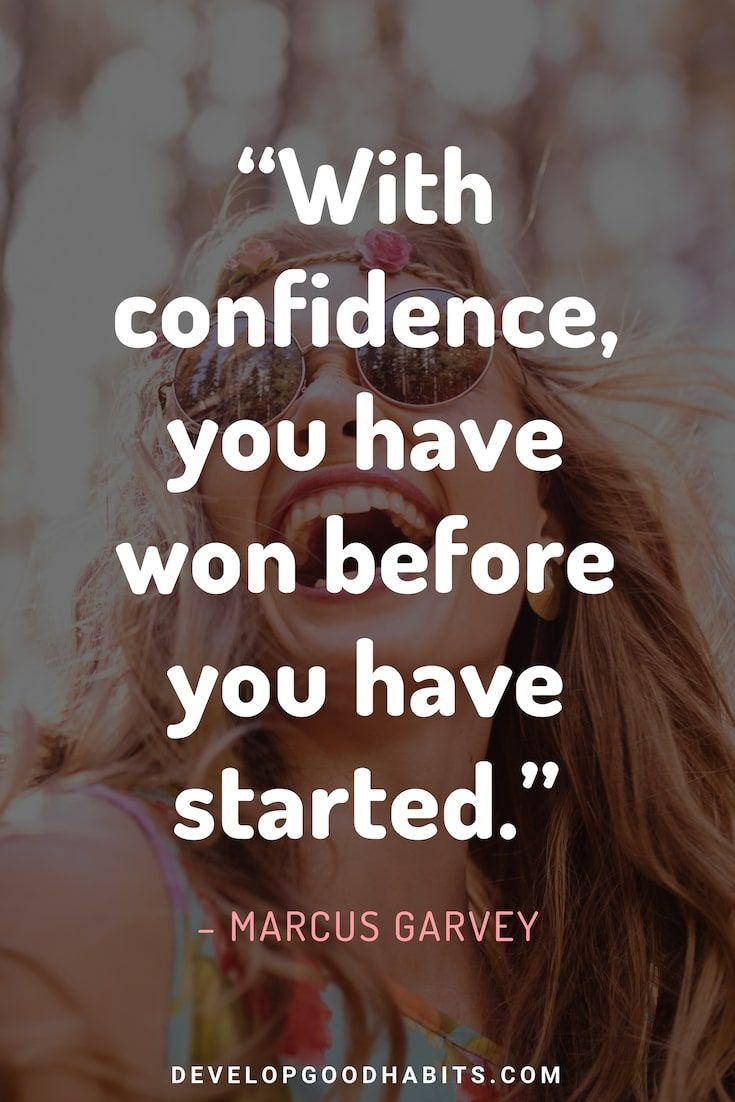 63 Self Confidence Quotes To Help You Conquer Any Challenge Self Confidence Quotes Confidence Funny Confidence Quotes