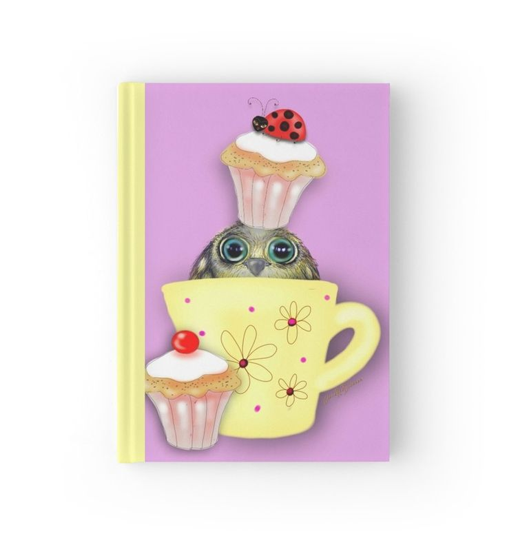 Bird in a Teacup Hardcover Journal --- great stocking filler!    #Christmas2017 #gifts