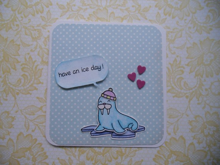 a card using lawn fawn products <3