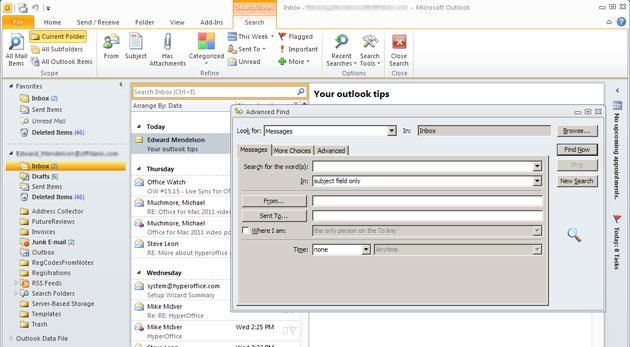 Get Organized 5 Tips For Microsoft Outlook Microsoft Outlook Outlook Outlook Hacks