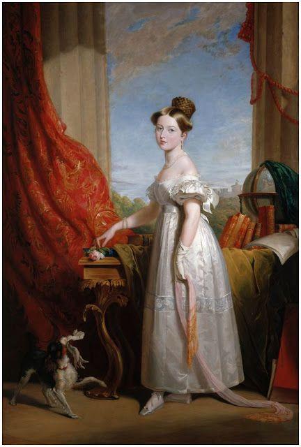 Джордж Хейтер (1792—1871) - «Королева Виктория (1819-1901)».