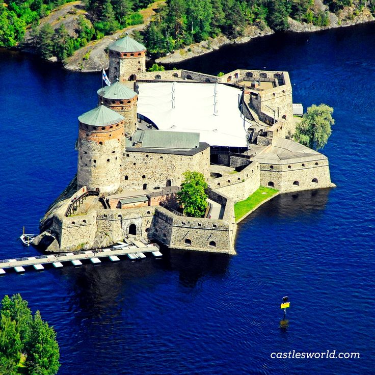 Olavinlinna Castle, Savonlinna, Finland A majestic fortress from Northern Europe…