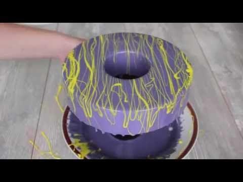 Зеркальная глазурь для украшения торта