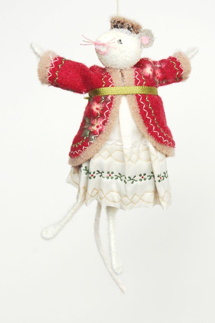 Fairy christmas ornaments - Halinka S Fairies Mouse Decoration Christmas