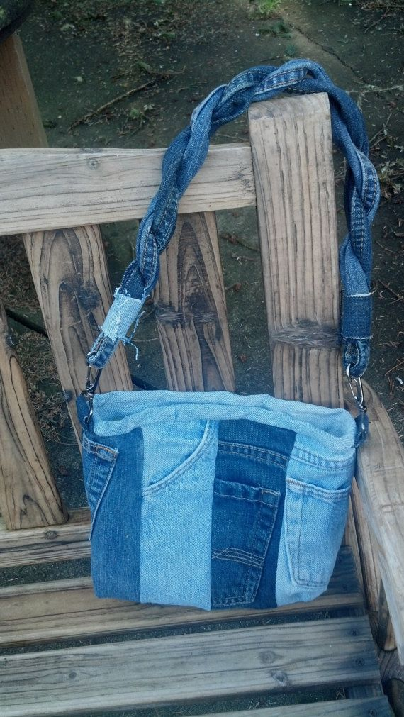 421 best images about recycled jeans bags on pinterest for Jeans upcycling ideas