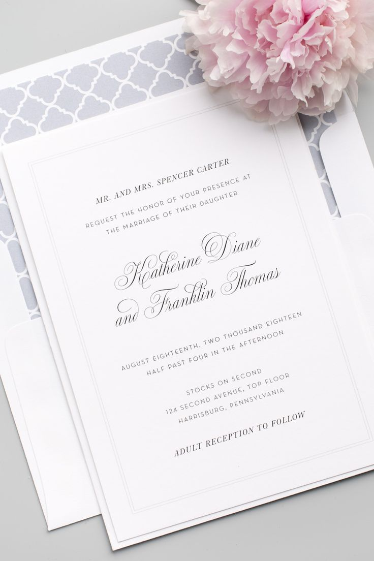 38 Best Wedding Invitations Images On Pinterest Wedding Stationery