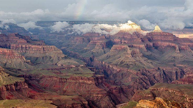 Vista do Parque Nacional do Grand Canyon, nos Estados Unidos