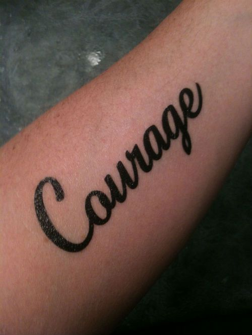 word tattoo designs for men - Google Search