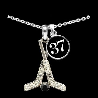 Custom Number Hockey Necklace...I have the necklace without the number, but I really want #35!!!