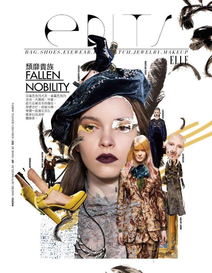 Collage:Daniel lee  TEXT:Kora Hsieh, Quenti Lu, Amvdr Li (2015 ELLE Taiwan October)