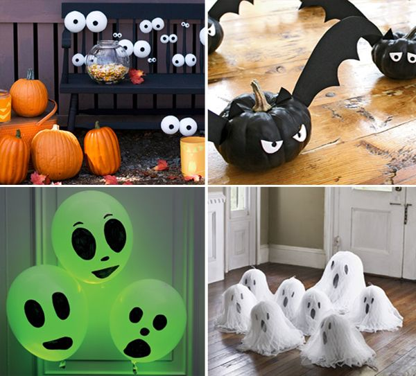 Modern Halloween Decor: DIY Halloween Pinterest Projects That Are Cute And