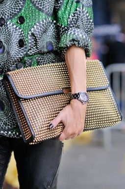 studded portfolio from Burberry Prorsum