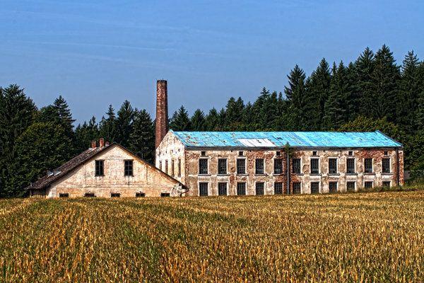 niederösterreich, waldviertel, alt, fabrik, hdr-fotografie