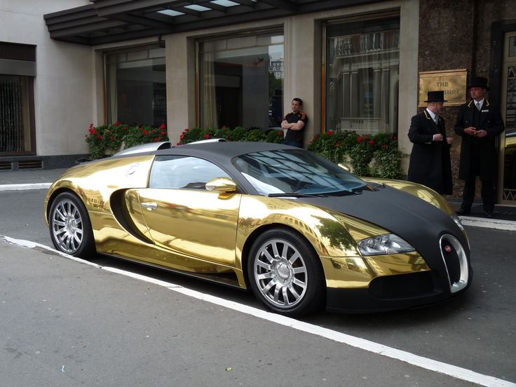 Gold Bugatti Veyron | Gold plated Bugatti Veyron i saw in ...