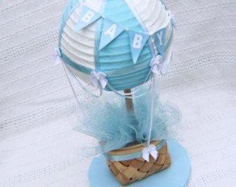 Centro de mesa de globo de aire caliente / / decoraciones para