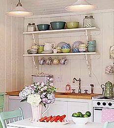 Scandinavian Kitchens - Open Shelving Ideas - Journal - The Kitchen Designer