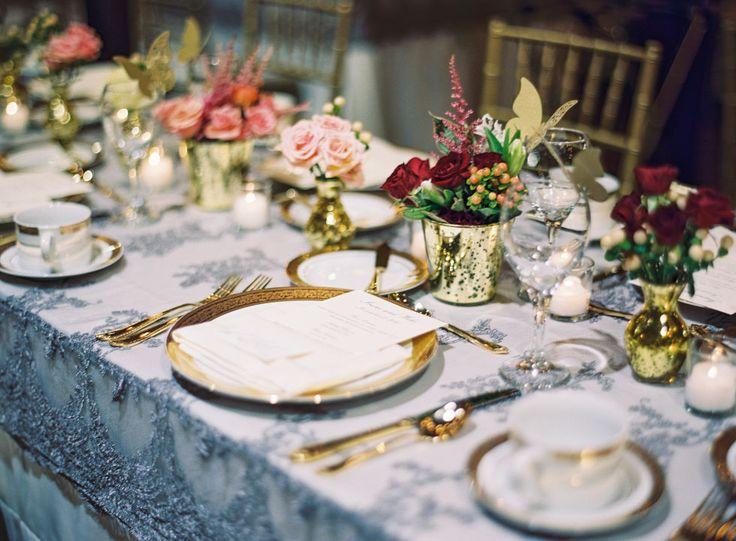 50 beautiful autumnal wedding table settings & 13 best Tables images on Pinterest   Table setting wedding Wedding ...