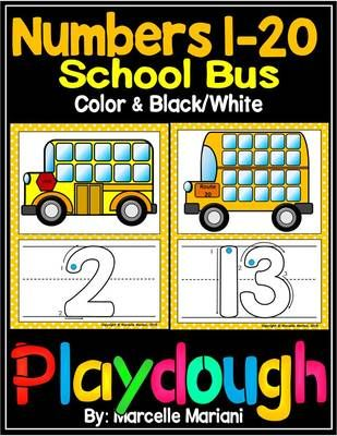 PLAY+DOUGH+MATS-+1-20-+BUS+THEME+PLAY+DOUGH+MATS+from+KinderPrep+on+TeachersNotebook.com+-++(85+pages)++-+This+package+contains+BUS+PLAY+DOUGH+MATS+that+are+perfect+for+back+to+school+and+include+numbers+1-20+PLAY+DOUGH+MATS+that+can+be+used+with+play+dough,+with+dry+erase+markers+or+as+posters+and+visual