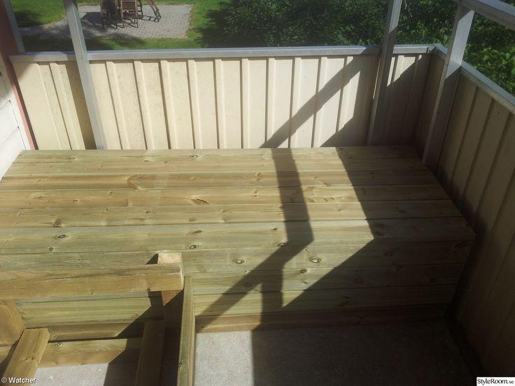 Bygga soffa på balkong - Ett inredningsalbum på StyleRoom av watcher