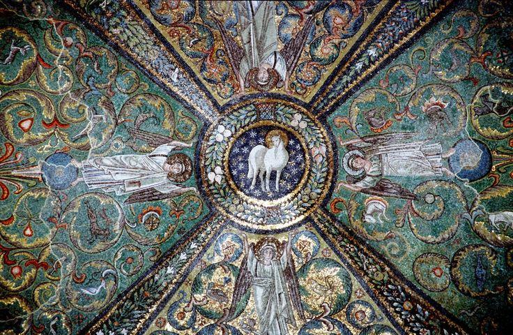 Агнец Божий; Италия. Равенна; VI в.
