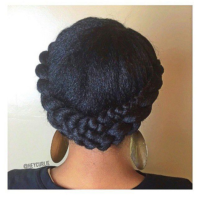 Professional Natural Hairstyle