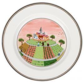 Villeroy & Boch Design Naif Appetizer/Dessert Plate #1 Farmers Vil 6 3/4 in-20