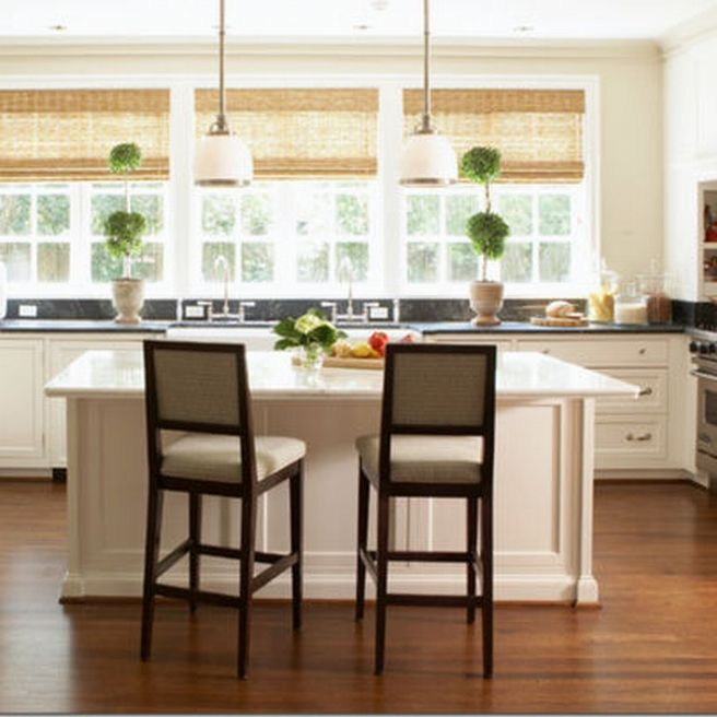 Best 25 kitchen window curtains ideas on pinterest for Best window treatments for kitchen