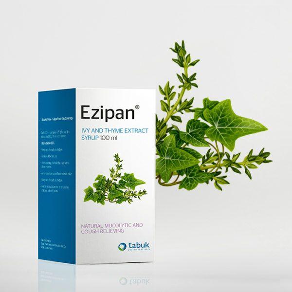 ايزيبان شراب Ezipan Syrup Tabuk Nature Book Cover