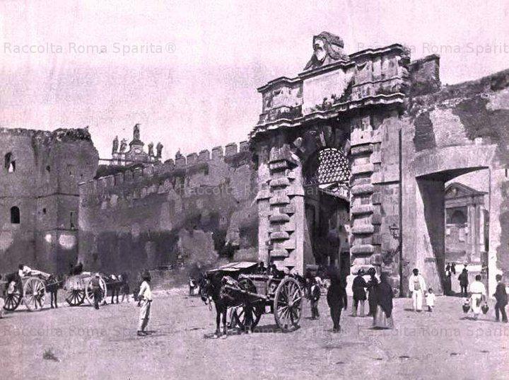 Piazzale Appio 1898