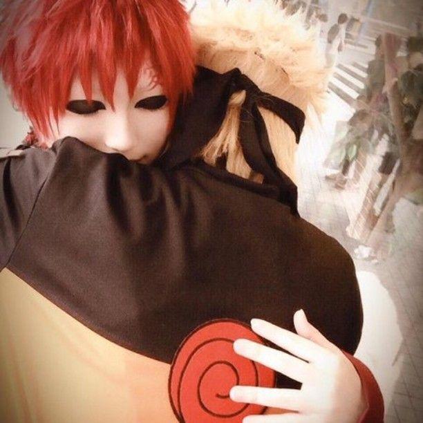 Naruto and Gaara Cosplay