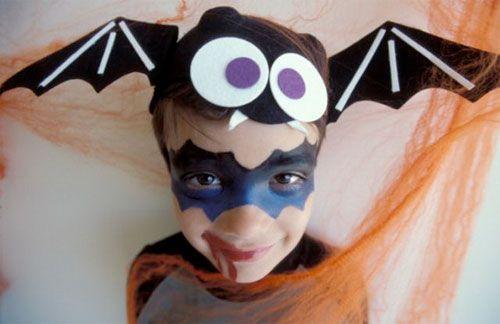 Trucco di Halloween per bambini: versione n.8 del vampiro