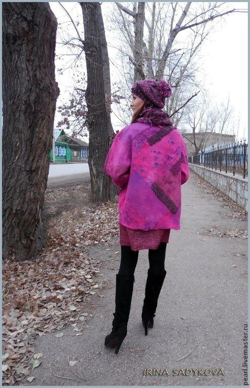 Ирина Садыкова. Легкое пальто свободного силуэта.Видео мастер-класс - Ярмарка Мастеров - ручная работа, handmade