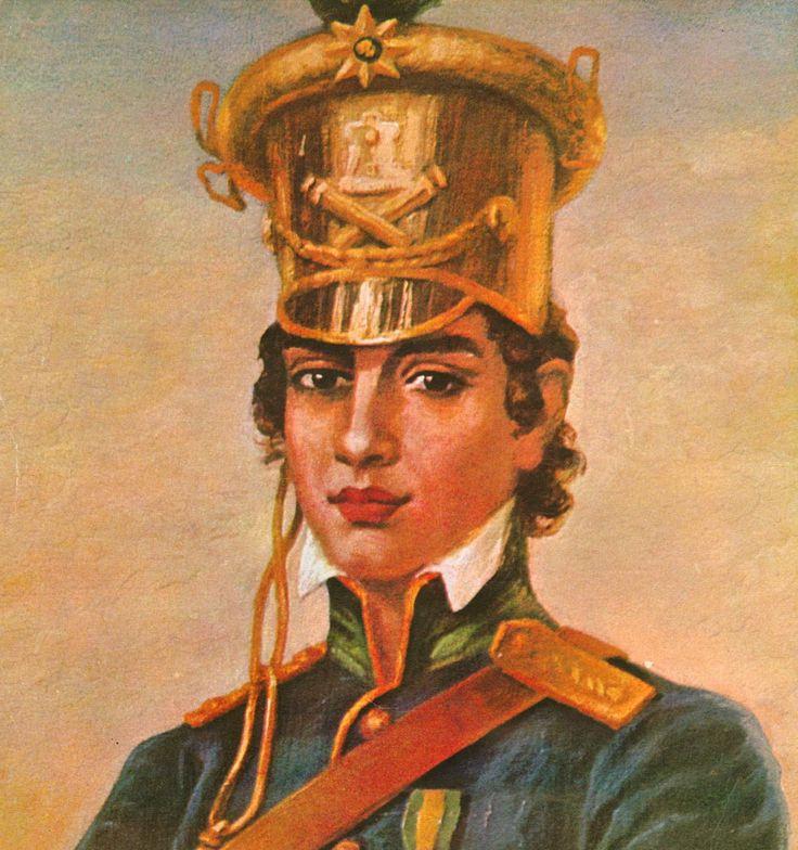 Maria Quitéria de Jesus (1792-1853) foi uma militar brasileira, heroína da Guerra da Independência. Considerada a Joana d'Arc brasileira, é a patronesse do Quadro Complementar de Oficiais do Exército Brasileiro. Vestiu-se de homem para alistar-se no exército. Morreu aos 61 anos, no anonimato, em Salvador.