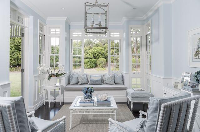 indoor outdoor elegant sunroom
