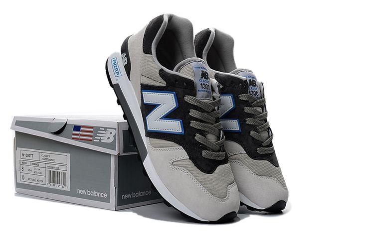 New Balance 1300 Women's Black Gray Running Shoes M1300TT