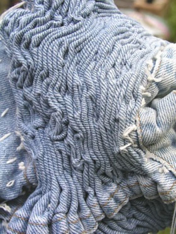 Fabric manipulation and textile design