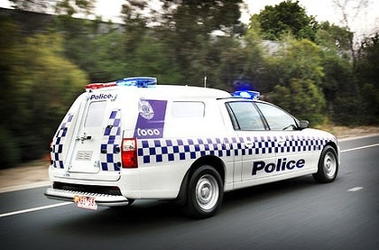 Victorian Police  Australia  Holden VE Commodore Twin Cab Van
