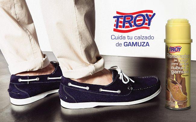 Sabemos que es difícil conservar los #zapatos de #gamuza, prueba el renovador de color y lúcelos como nuevos!!