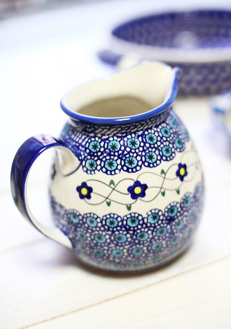 63 best Lovely Polish pottery images on Pinterest | Polish ...
