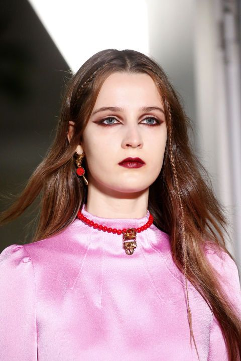 All the hair and makeup looks we're loving on the Paris runways: