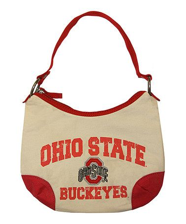Take a look at this Natural Ohio State Game Plan Purse by Concept One on #zulily today!