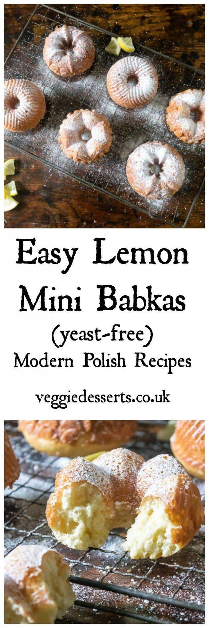 Easy Lemon Mini Babkas from Wild Honey and Rye Cookbook   Veggie Desserts Blog