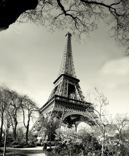 Eiffel Tower Wall mural, Wallpaper, Photowall, Home