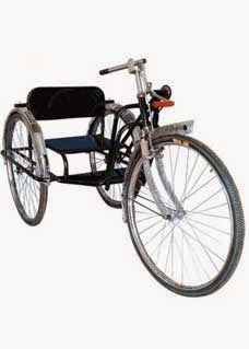 Wheelchair : Handicap Products: A Tricycle Is a Type Of Human-Powered Land Vehicle