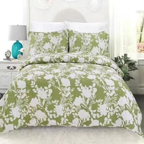 Comfy Cozy 3-PC Designer Print Summer Quilted Bedding Set or Bedspreads 14 Designs