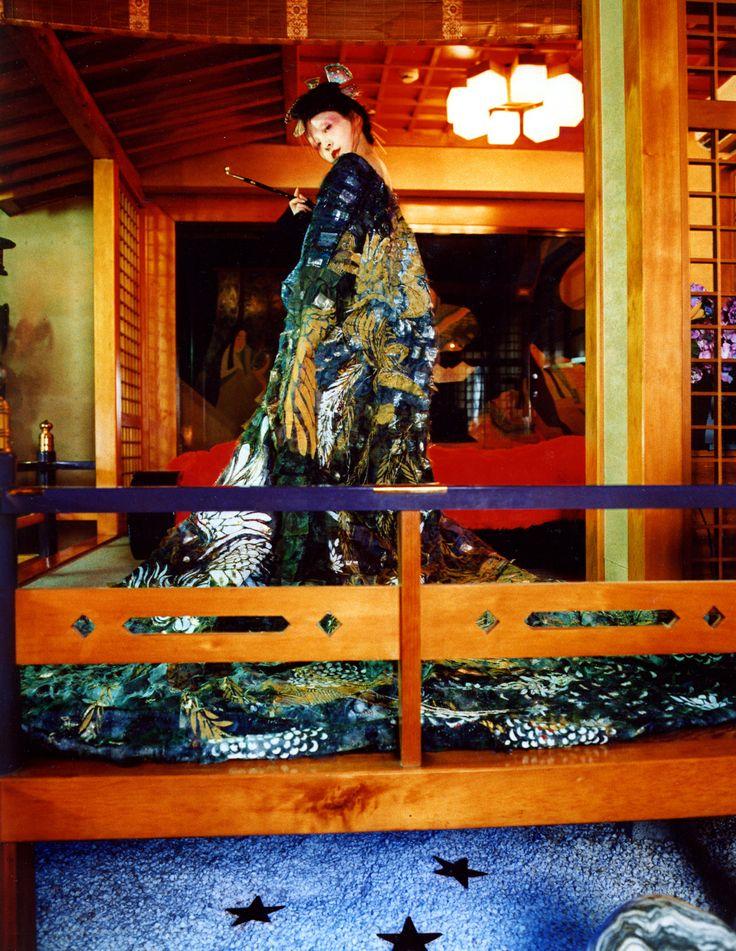 2004「花魅」麻生久美子 - WORKS 清川あさみ ASAMI KIYOKAWA INC.