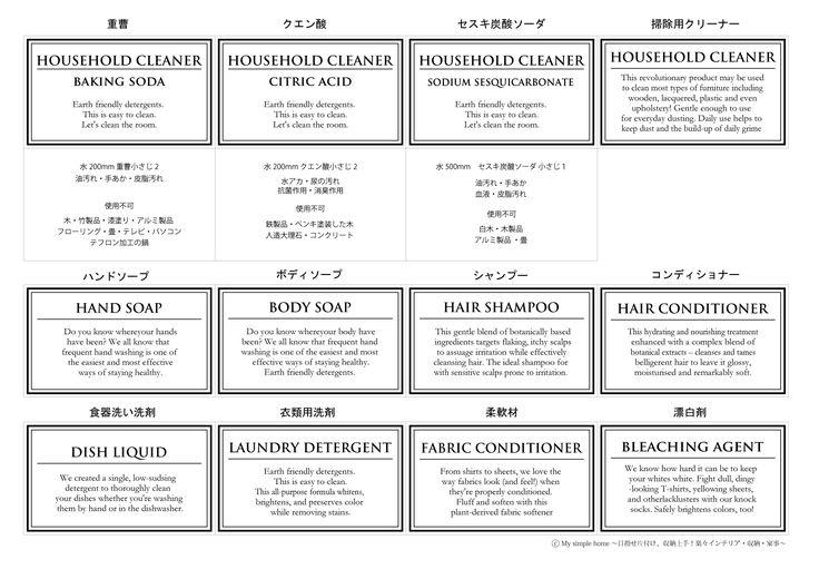 生活感漂う洗剤をシンプルにかっこよく。 詰め替えボトルはこちらから http://item.rakuten.co.jp/mon-o-tone/c/0000000102/ http://blog-imgs-66.fc2.com/s/i/m/simplehouselife/20140524153255e31.jpg