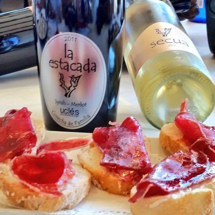 Cata de vino en @La_Estacada: viñedos, bodega, visita, cata, hotel y spa #temerecesunrespiro