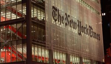 'New York Times' Launches Startups Incubator