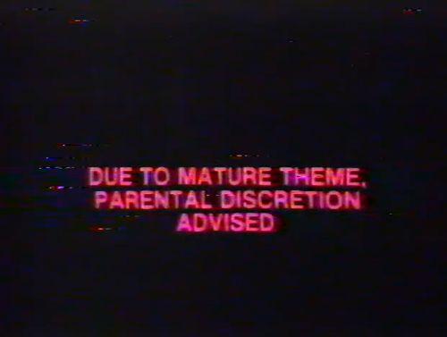 i should wear a parental advisory warning...